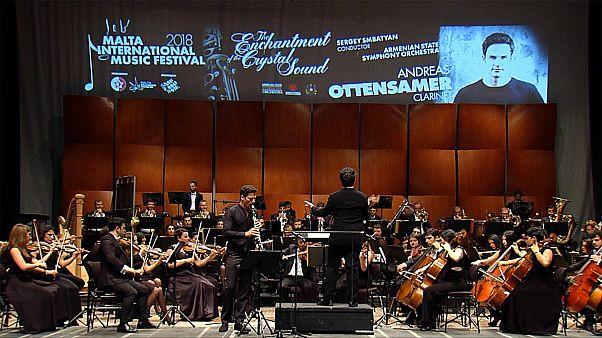 Malta'da klasik müzik ziyafeti