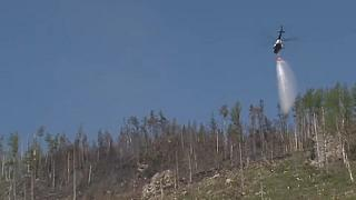 Eloltották az erdőtüzet a Magas-Tátrában