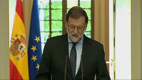 """Rajoy: """"az ETA összes bűnösét utoléri az igazságszolgáltatás"""""""