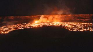 Eruption volcanique à Hawaï