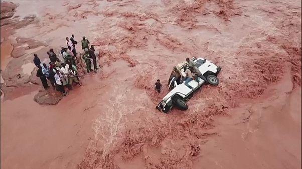 Dramatiques inondations au Kenya