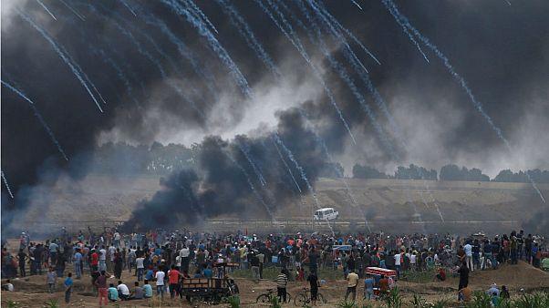 راهپیمایی «بازگشت» در غزه؛ صدها فلسطینی مجروح شدند
