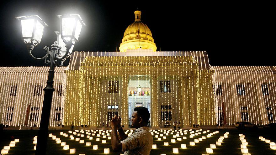 Feier zur Geburt, Erleuchtung und dem Tod Buddhas in Sri Lanka, 29.04.2018