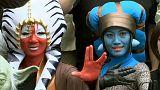 """شاهد:الاحتفال باليوم العالمي ل""""حرب النجوم"""" في تايوان"""