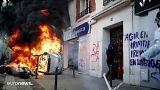 Lángokban állt Párizs május elsején