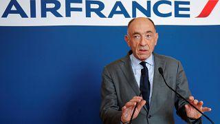 Der Konzernchef von Air France-KLM Jean-Marc Janaillac in Paris