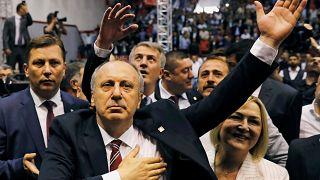 Erdogan já tem rival para as eleições antecipadas de junho