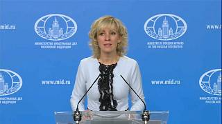 """Захарова заподозрила Великобританию в """"жесточайшей цензуре"""""""