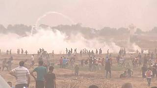 Decenas de heridos de bala en una nueva jornada de protesta en Gaza
