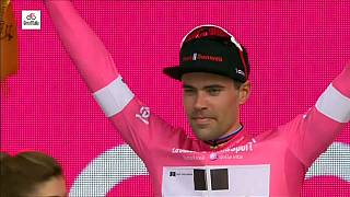 Reigning Dutch champion Tom Dumoulin wins first stage of Giro D'Italia