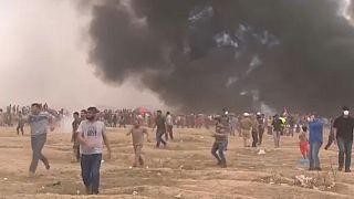 A gázai határ megnyitását követelik a palesztinok