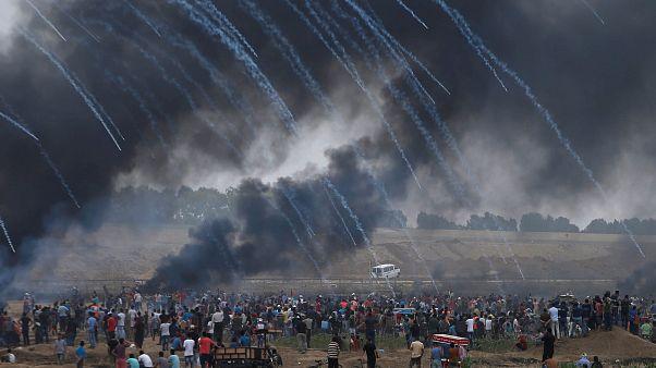 Столкновения на границе Сектора Газа
