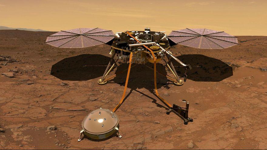 A nova sonda integra tecnologia europeia para estudar o interior do planeta
