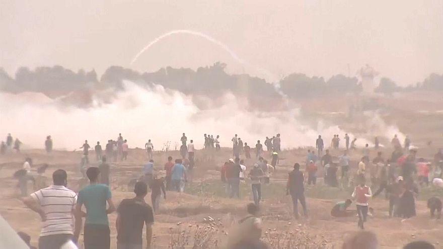 Zusammenstöße am Gazastreifen