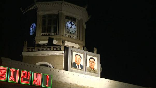 North Korea resets time following meeting with the South