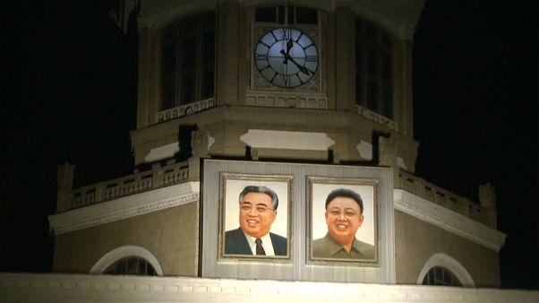 توقيت بيونغ يانغ يتوافق مع توقيت سيول منذ الساعة الصفر من السبت