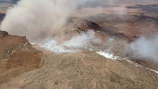 Un terremoto sacude la zona del volcán Kilauea, en erupción desde el jueves