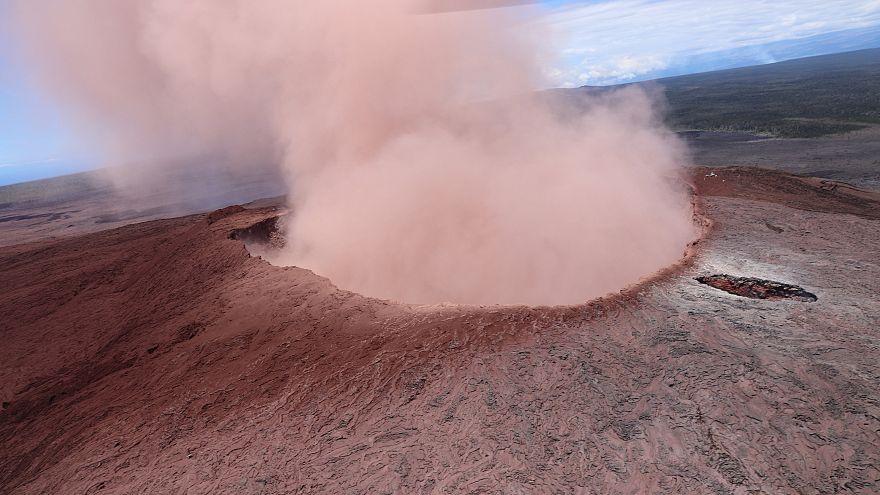 Χαβάη: Εκρήξεων συνέχεια στο ηφαίστειο Κιλαουέα