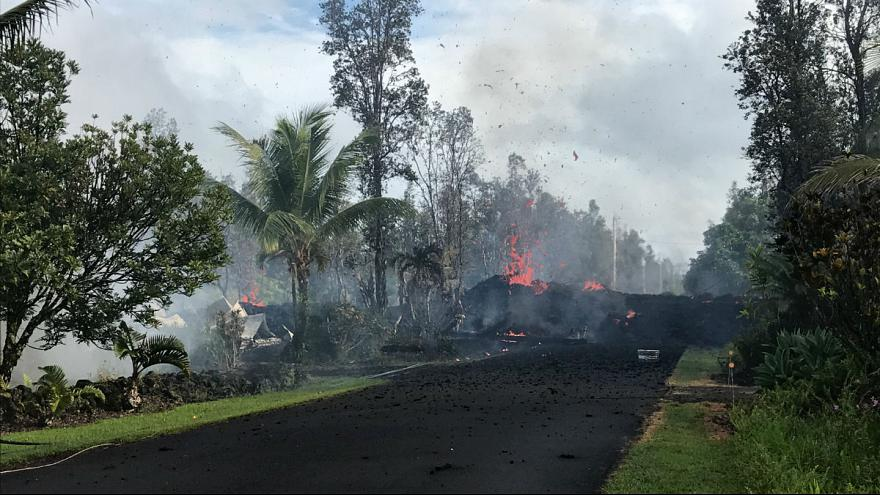 Több mint 1500 embert kellett kitelepíteni Hawaii-on vulkánkitörés miatt