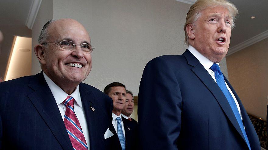 Affäre um Stormy Daniels: Trump widerspricht Anwalt Giuliani