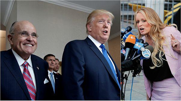 جولياني، ترامب، ستورمي دانيلز