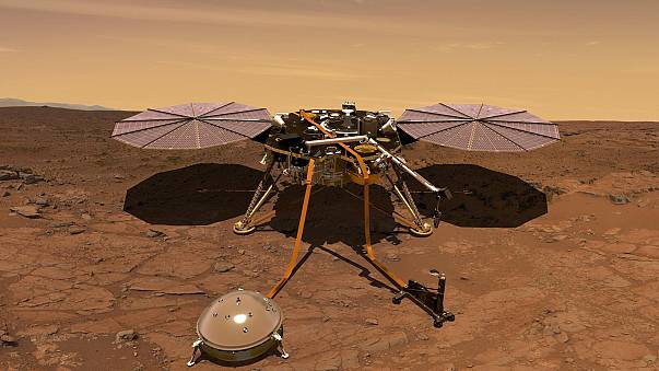 La sonde Insight en route vers Mars