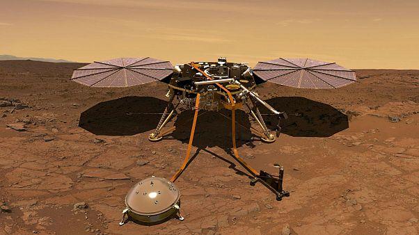 ناسا فضاپیمای «اینسایت» را برای مطالعه مریخ به فضا پرتاب کرد