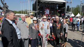 May 9 celebration in Latvia