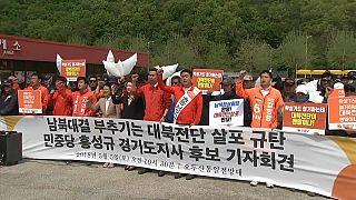 Güney Koreli aktivistler Kim Jong Un ve Kuzey Kore'yi riyakarlıkla suçladı