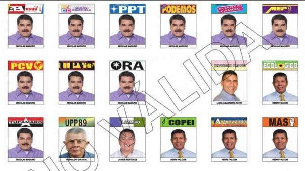 10 volte Nicolas Maduro