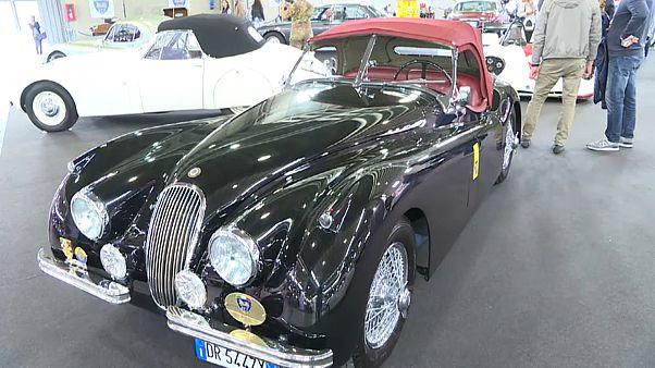 Foire des voitures de légende à Vérone