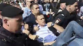 Tüntetések Putyin ellen