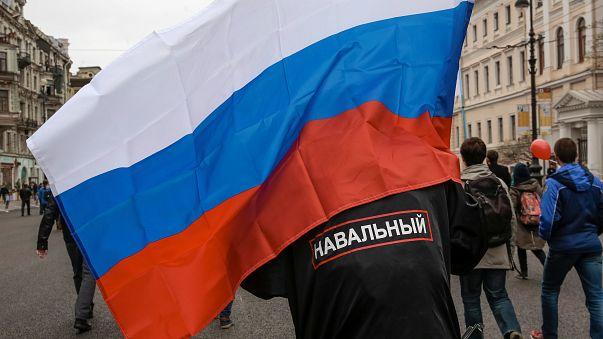 Plus d'un millier de manifestants anti-Poutine arrêtés samedi en Russie, notamment à Moscou