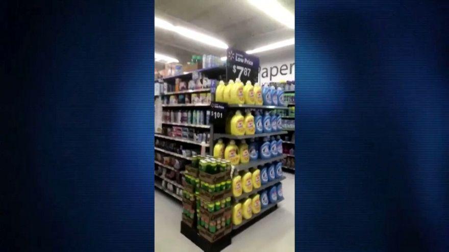 شاهد: لحظة وقوع الزلزال المدمر في هاواي