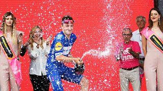 Viviani wins second leg of Giro D'Italia in Israel