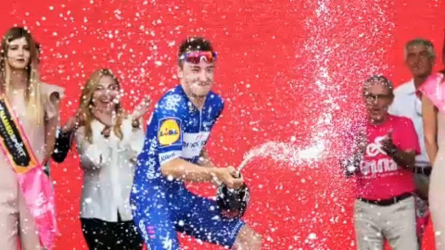 Viviani nyerte a Giro d'Italia második szakaszát