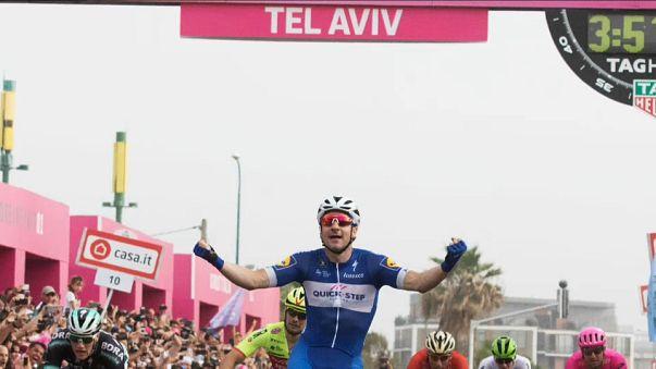 Viviani impone la ley del más rápido en Tel Aviv
