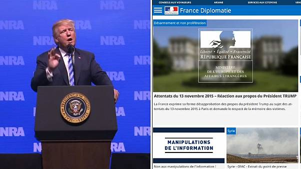 Frankreich reagiert auf Trump-Äußerungen