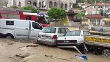 Внезапное наводнение в Анкаре