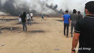 Gazze'de patlama: 6 Filistinli hayatını kaybetti