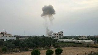 Explosion in Gaza building kills six Hamas members