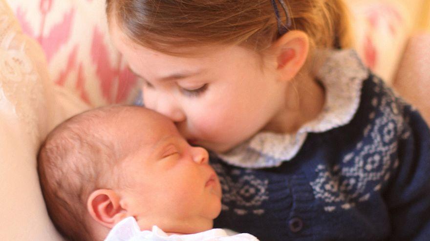So süß: Die 1. Fotos von Prinz Louis - aufgenommen von Mama Kate