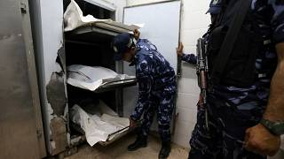 Rejtélyes robbanás a Gázai övezetben