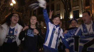 Porto fans celebrate Primeira Liga title win