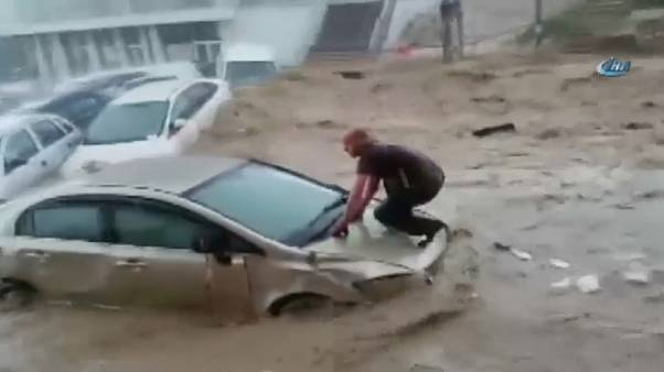 Ankara hit by unprecedented downpour