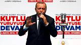 Erdogan pursues EU accession at manifesto unveiling