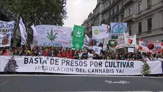 Marches in Peru & Argentina demand new cannabis laws