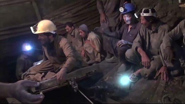 Взрыв на пакистанской шахте