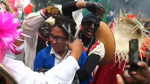 Mexicans celebrate Cinco de Mayo