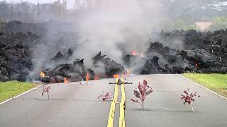 Vulkanausbruch und Beben erschüttern Hawaii